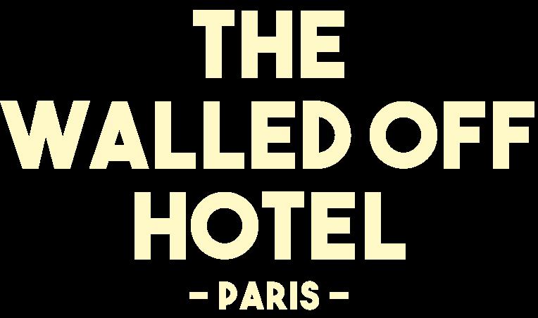 Le Walled Off Hotel à Paris